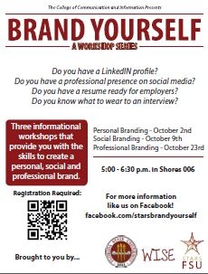 brand yourself workshops to be held in october news