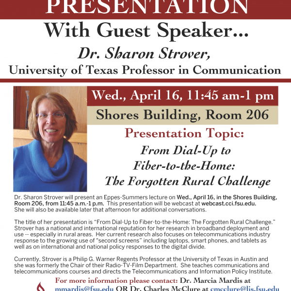 University Of Texas Professor To Present On April 16 About