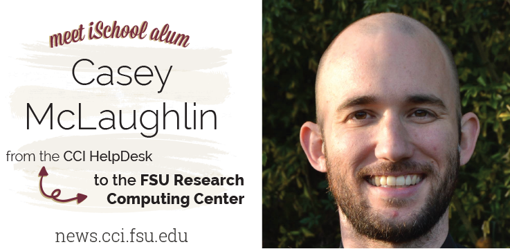 Header image for A Rise in the Ranks: Meet iSchool alumnus: Casey McLaughlin