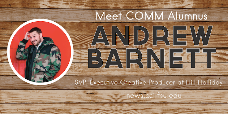 Header image for Meet COMM Alumnus: Andrew Barnett