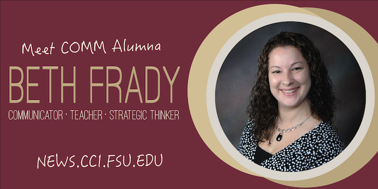 Header image for Meet COMM Alumna: Beth Frady