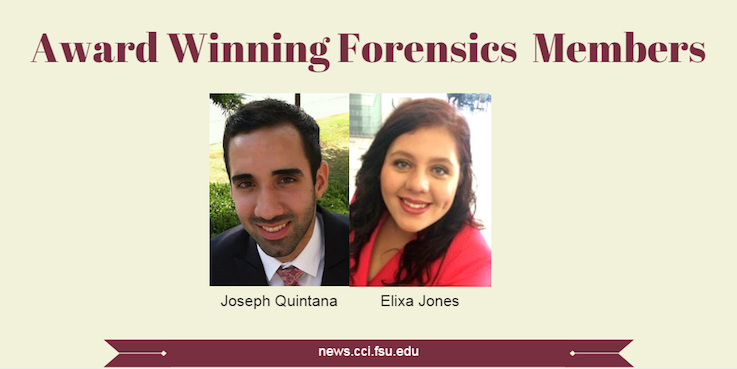 Header image for Forensics Team continues winning tradition