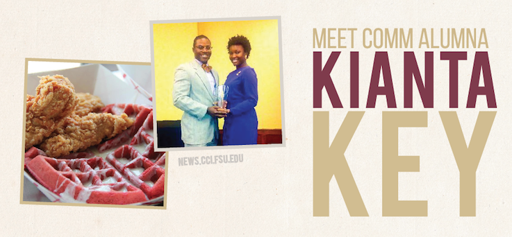 Header image for Meet COMM Alumna: Kianta Key