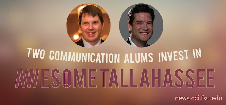 Header image for COMM Alums invest in Awesome Tallahassee