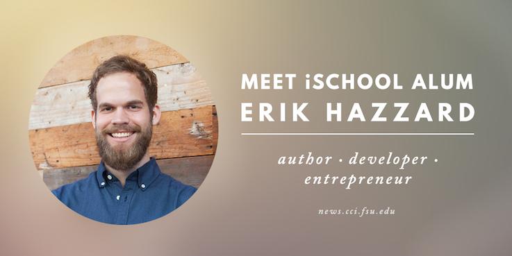 Header image for Meet iSchool Alumnus: Erik Hazzard