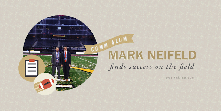 Header image for From the Classroom to the Football Stadium: Meet COMM alumnus Mark Neifeld