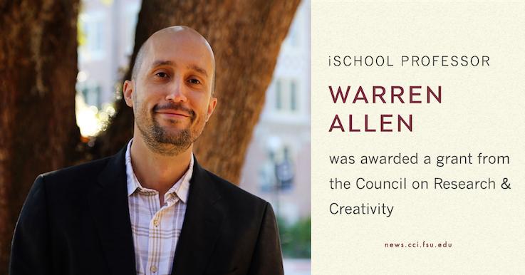 Header image for Warren Allen awarded CRC Grant