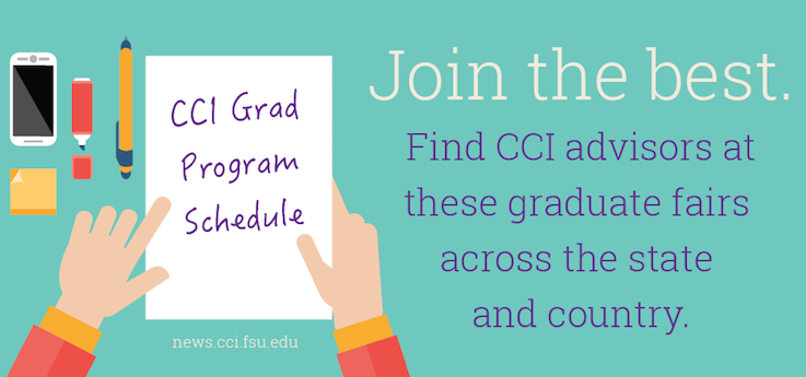 Header image for Interested in CCI graduate programs – check out their schedule this Spring