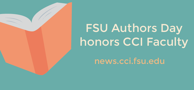 Header image for FSU's Author Day honors CCI Faculty