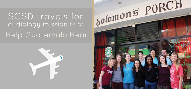 Header image for SCSD changes lives on Help Guatemala Hear Mission
