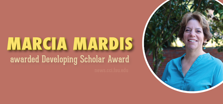 Header image for iSchool's Marcia Mardis awarded Developing Scholar Award
