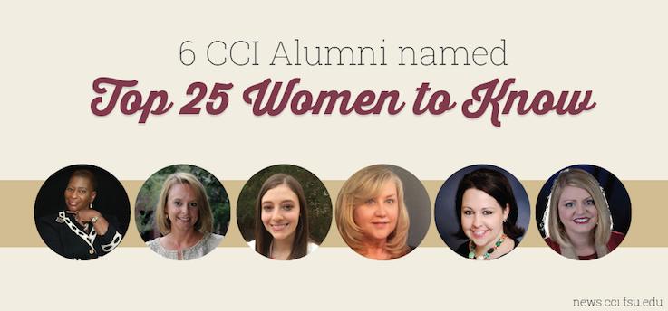 Header image for Democrat announces Top 25 Women, 6 CCI Alumni