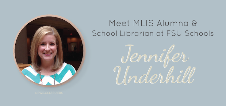 Header image for iSchool Alumna Jennifer Underhill leads Florida High's library