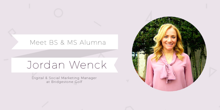 Header image for Two time Alumna Jordan Wenck progresses to Bridgestone Golf