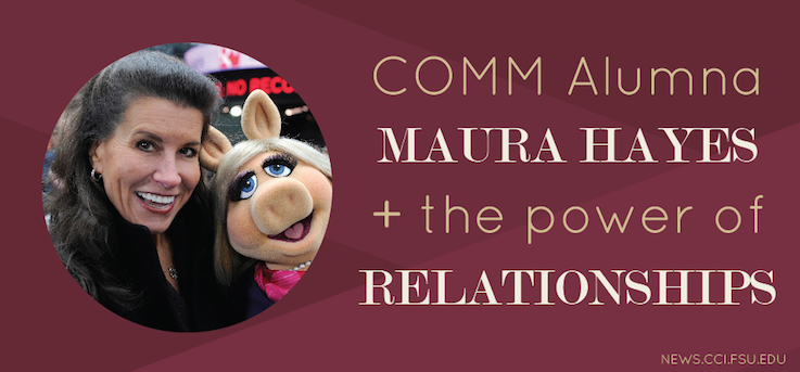 Header image for The Power of Relationships: COMM Alumna Maura Hayes