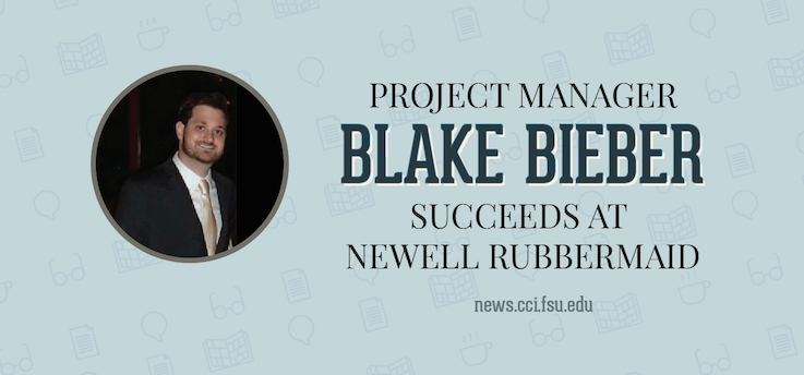 Header image for Project Manager Blake Bieber finds success at Newell Rubbermaid