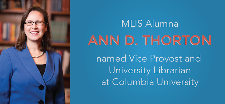 Header image for iSchool Alumna named University Librarian at Columbia University