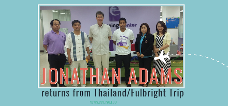 Header image for Jonathan Adams Finishes Fulbright Scholar Work