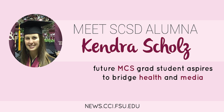 Header image for SCSD Alumna Kendra Scholz Sets Sights on Health Communication