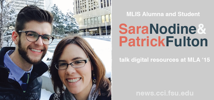 Header image for MLIS Alum, Student Talk Digital Reference Services at 2015 Music Library Association Conference