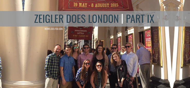 Header image for London Calling: Zeigler and Students Take on London for the 9th Summer