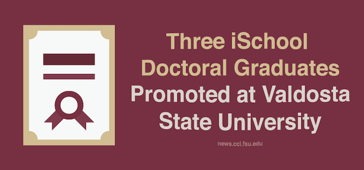 Header image for iSchool Doctoral Alums Find Success at Valdosta State University
