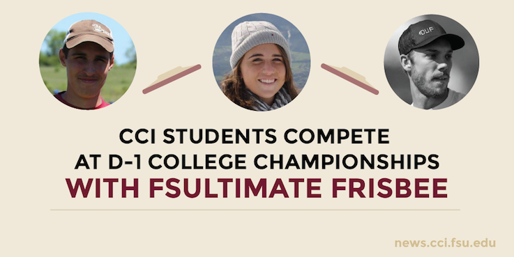 Header image for CCI Students participate in FSUltimate and attend USA Ultimate College Championship
