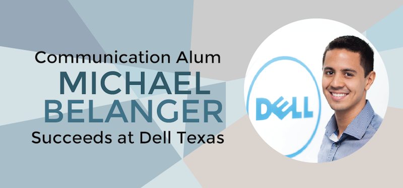 Header image for COMM Alum Michael Belanger Promoted at Dell