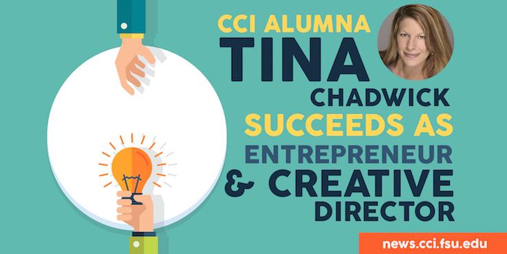 Header image for CCI Alumna Tina Chadwick Succeeds as Entrepreneur, Creative Director