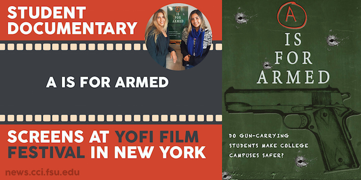 "Header image for FSU Digital Media Production Students Bring ""A is for Armed"" to YOFI Film Festival"