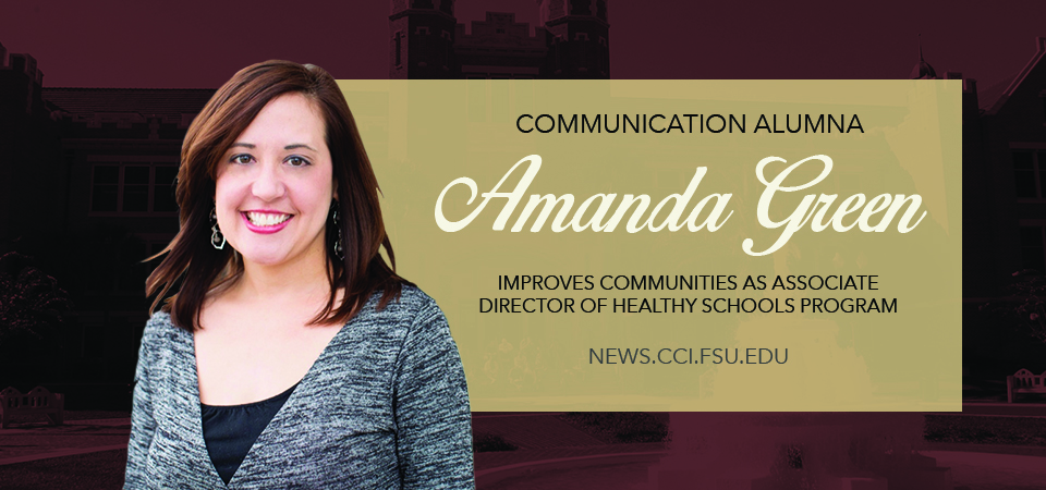Header image for Alumna Amanda Green Improves Communities as Associate Director of Healthy Schools Program