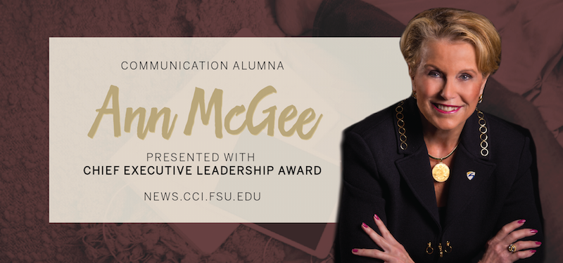 Header image for Alumna and Seminole State College President Ann McGee Presented with Chief Executive Leadership Award