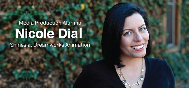 Header image for Alumna Nicole Dial Utilizes Media Production Skills at DreamWorks Animation