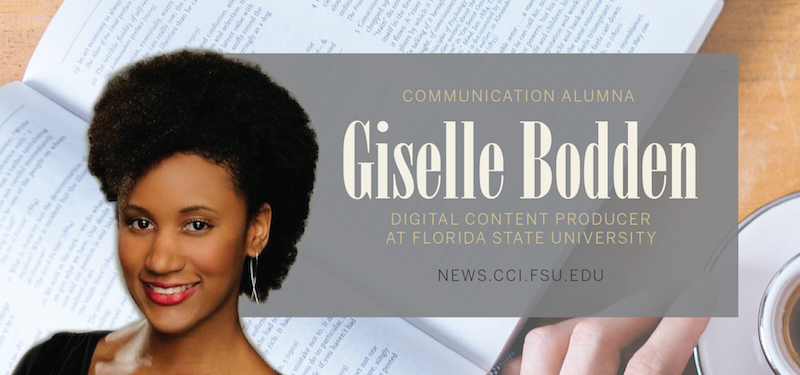 Header image for Alum Giselle Bodden Utilizes Media Production Degree as Media Planner at Discovery Communications