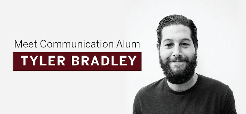 Header image for Alum Tyler Bradley Utilizes Advertising Degree as Social Media Manager at Pitchfork