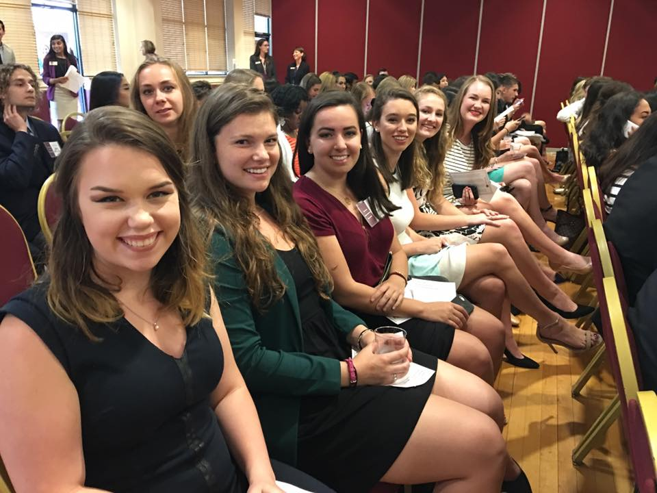 fa7d4e9e42ad3 CCI students inducted into Garnet   Gold Scholar Society – News   Events