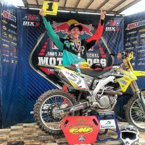 Josh Cartwright Winning Race