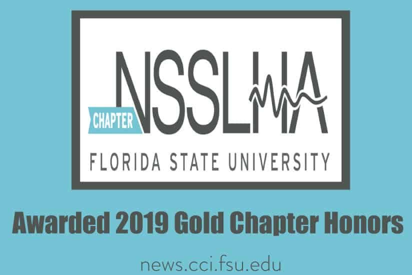 NSSLHA Awarded 2019 Gold Chapter Honors - Graphic