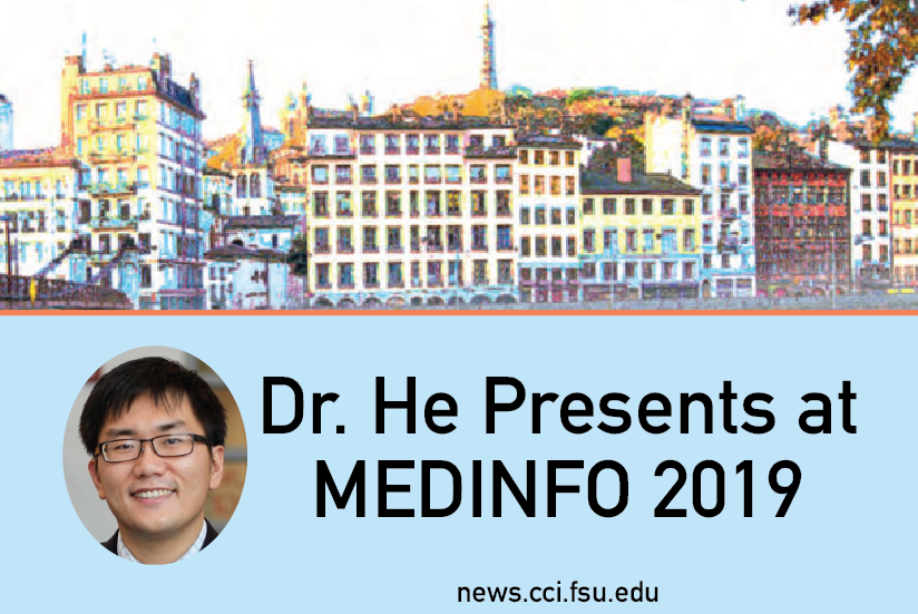 Dr He Presents at Medinfo