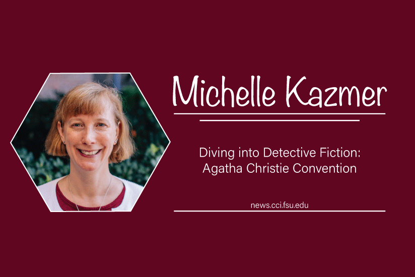 Michelle Kazmer Dives into Fiction - Graphic