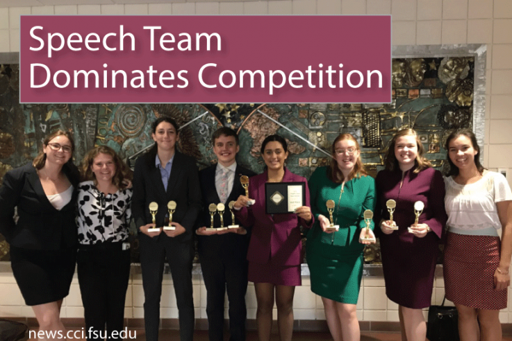 Speech team dominates cometition