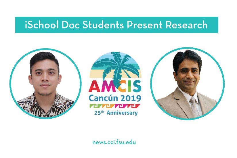 Doc Students at AMCIS 2019 - graphic
