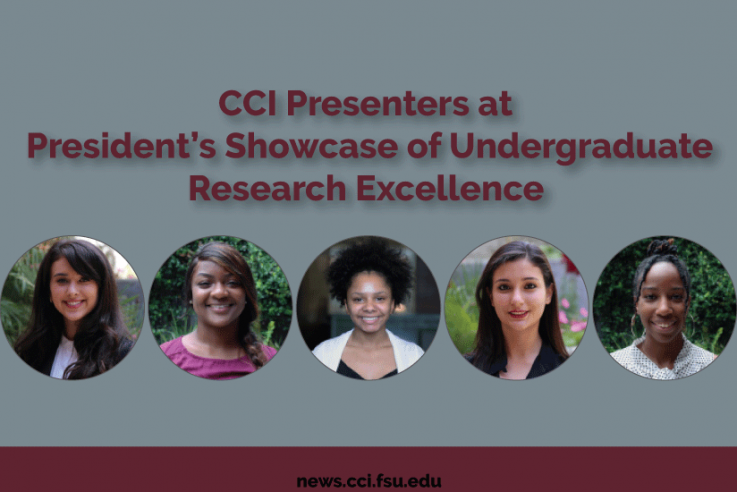 CCI Presenters at President's Showcase of Undergraduate Research Excellence
