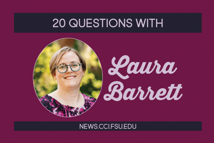 20 Questions with Laura Barrett