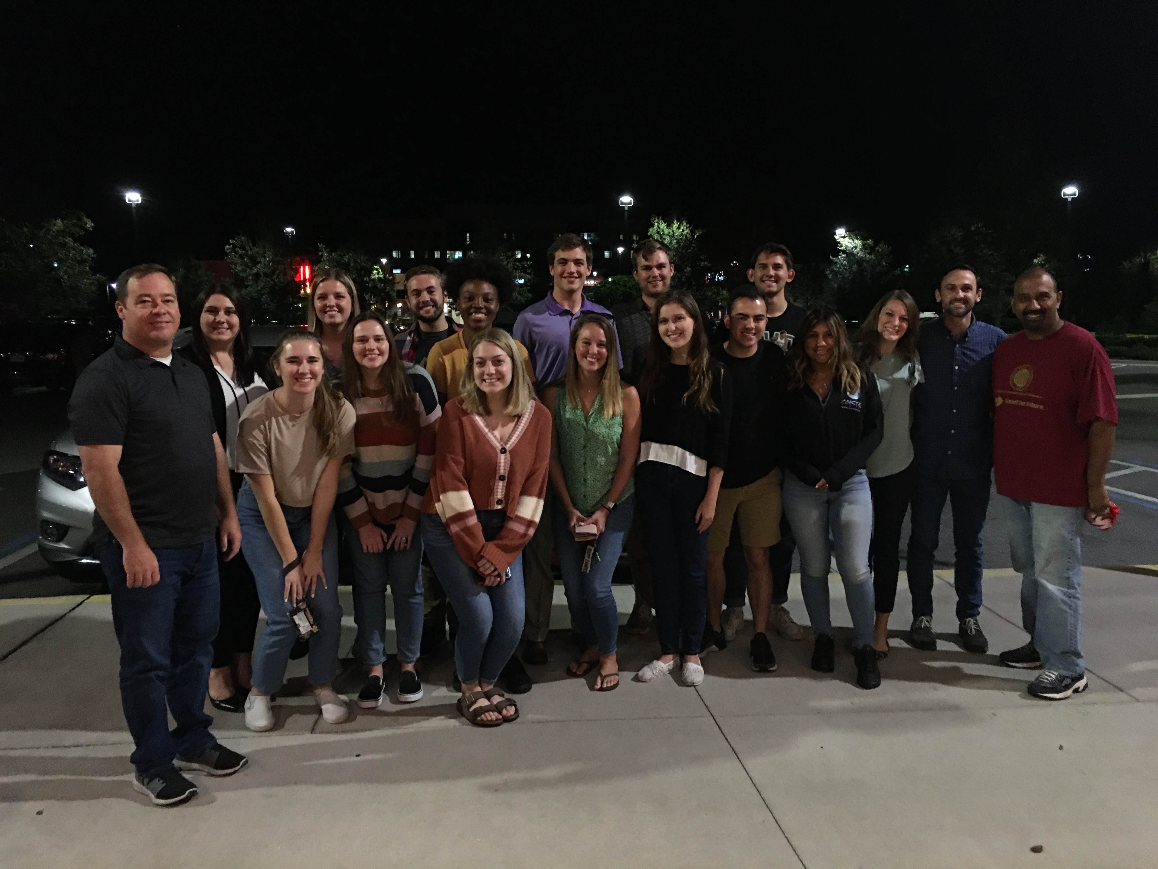 FSU students and alumni.
