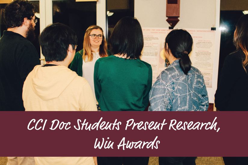 CCI Doc Students Present Research - graphic