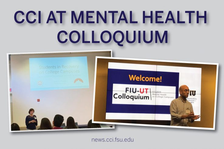 CCI at Mental Health Colloquium Graphic
