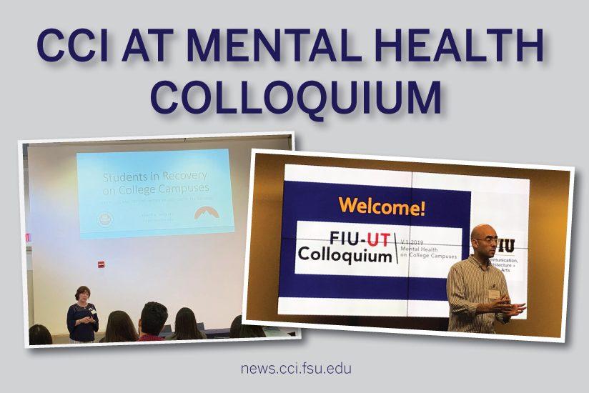 CCI at Mental Health Colloquium Graphic