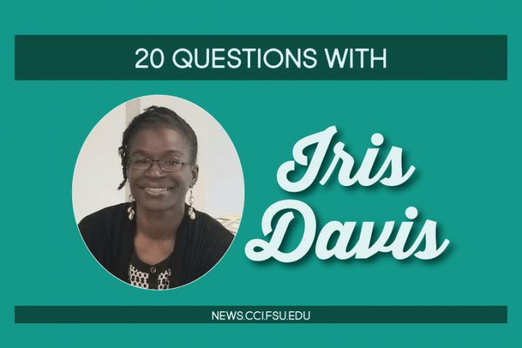 Iris Davis - Graphic