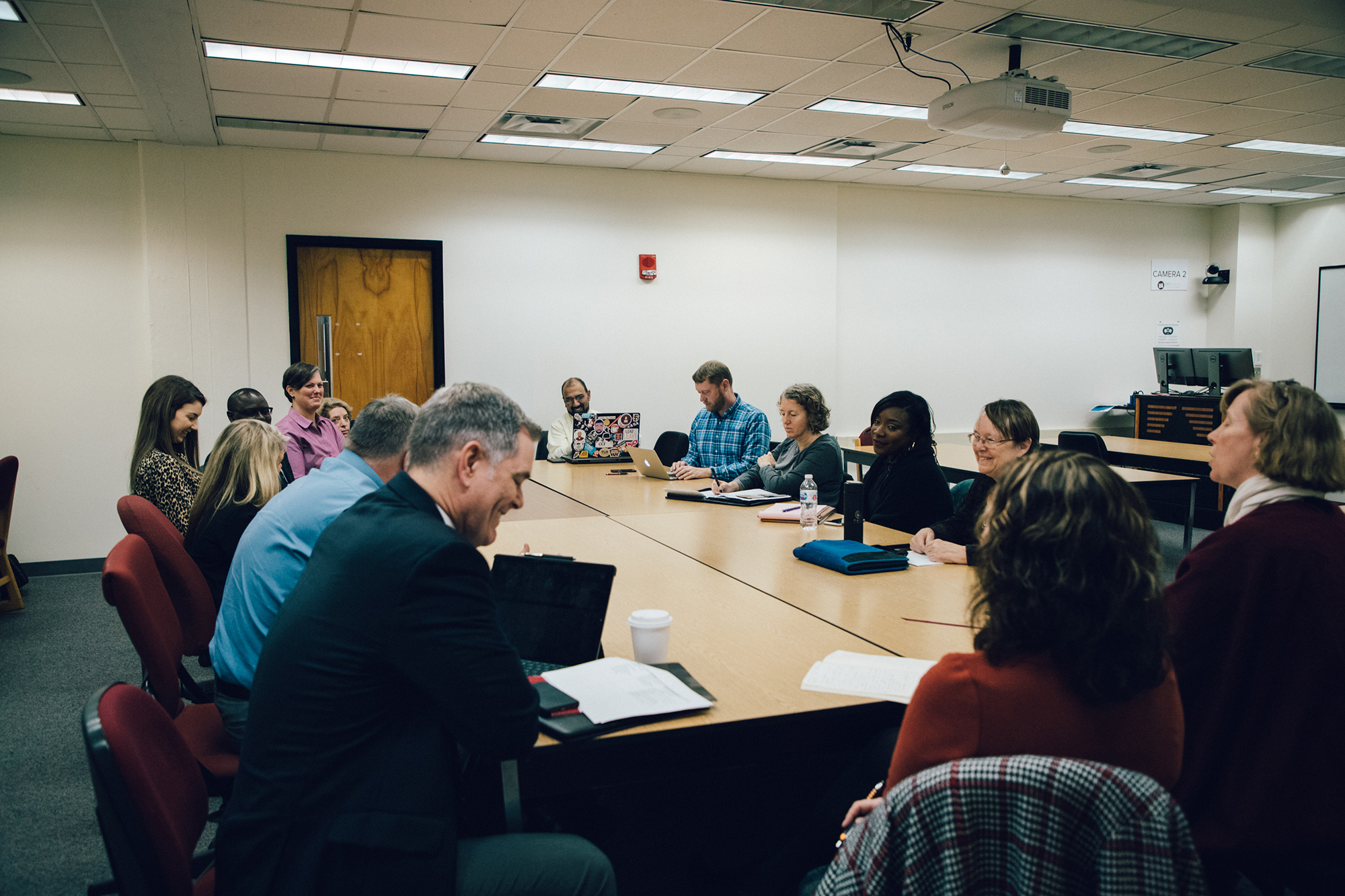 CCI and CIC deans and directors collaborate during the UofSC visit